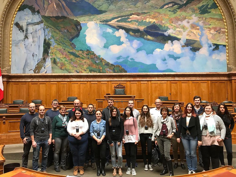 Egeter & Tinner AG im Nationalratssaal