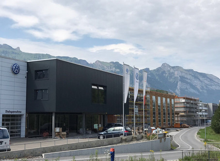 Industrie Ober Au in Bendern-Gamprin