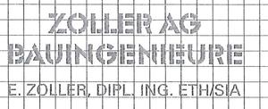 Zoller AG, Bauingenieure