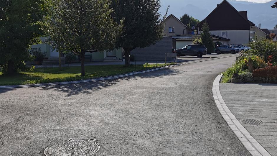 Werkleitungssanierung und Tempo 30 Zone, Diepoldsau