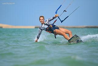 Kite-safari. The Red Sea, Egypt