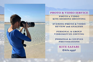 Kite-Safari photographer. Ikite.egypt - kite-safari trips around the Red Sea islands, Egypt. Kite-courses for kiteboarding active water sport