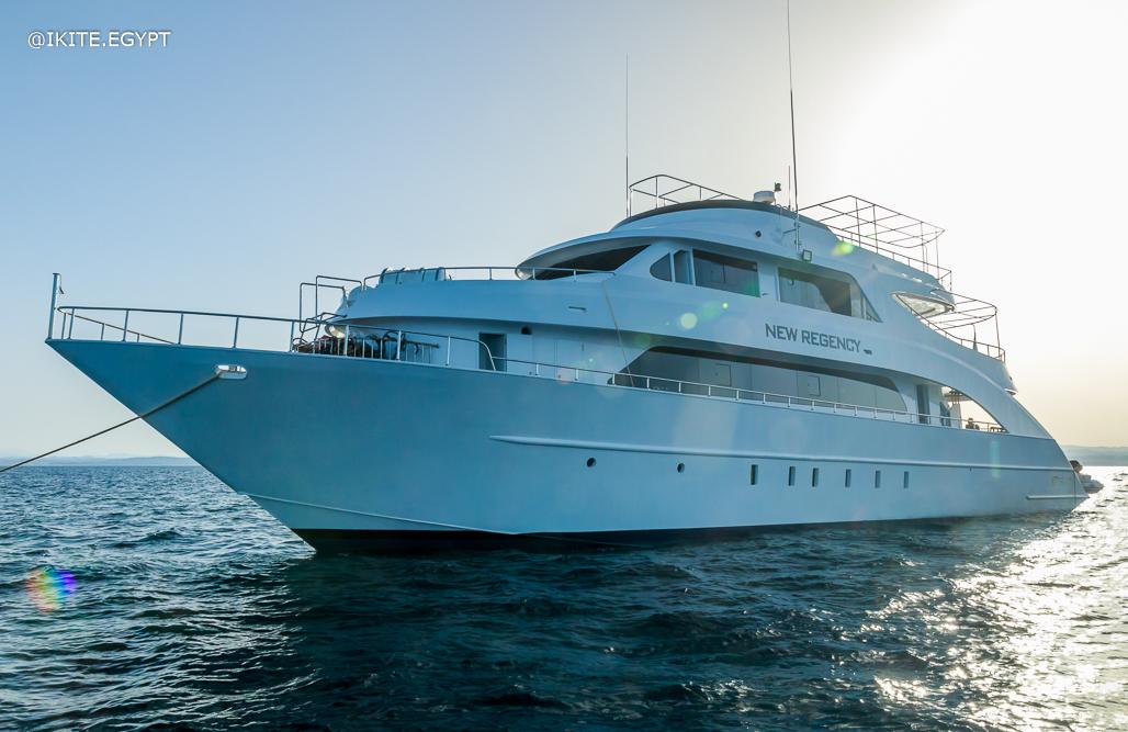 New Regency luxury steel motor yacht
