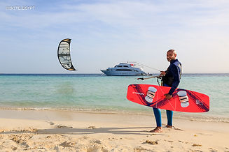Kite-safari instructor