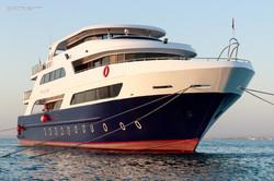 Marselia Star luxury motor steel yacht