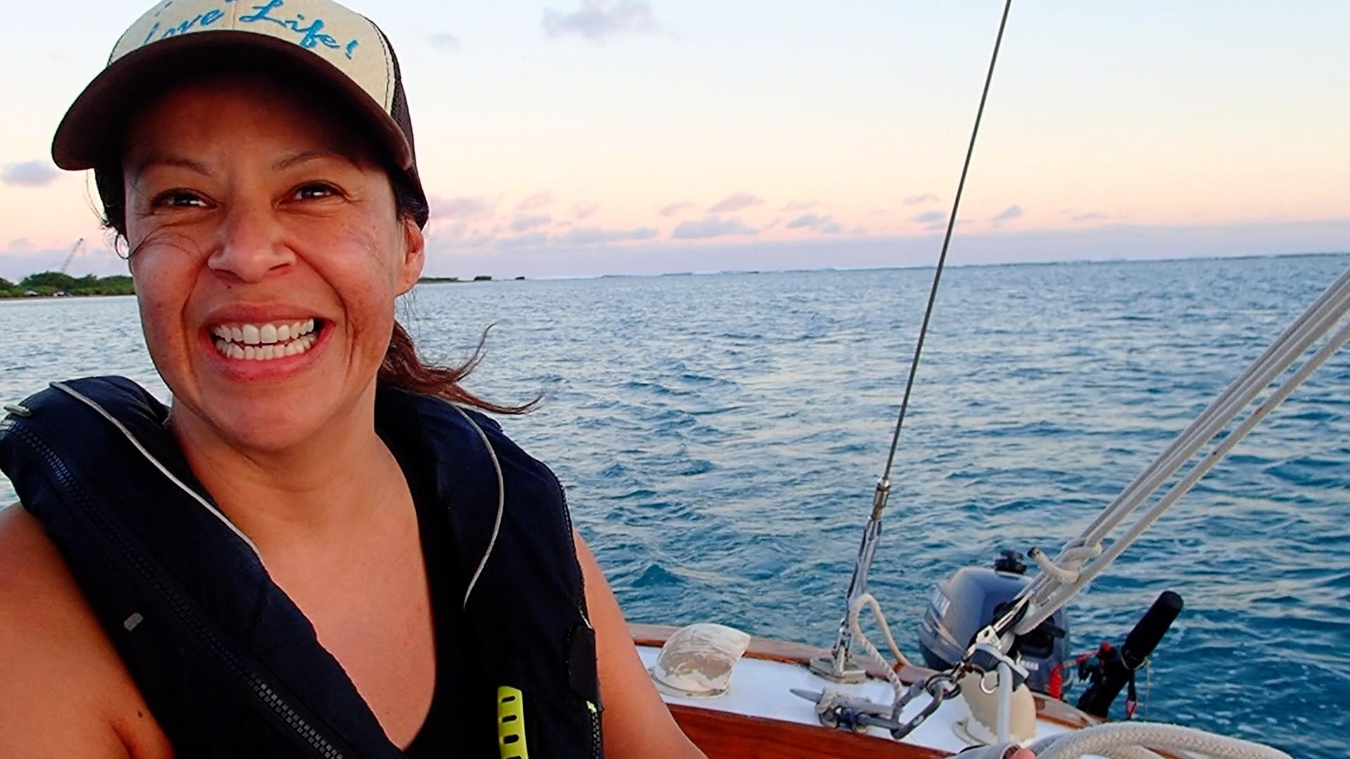 "Sailing was on my ""bucket list""."