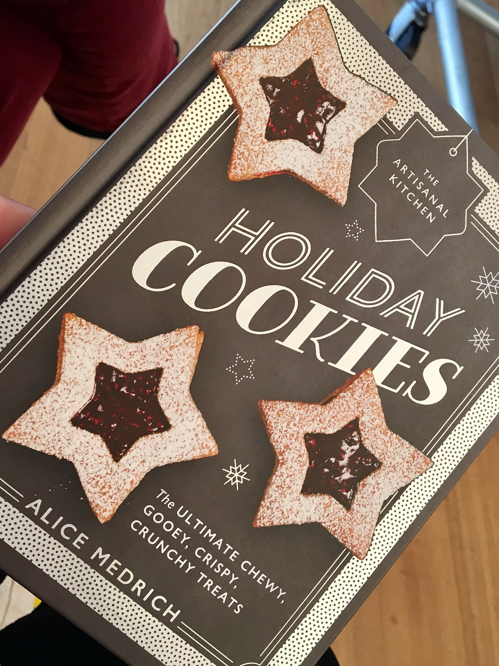 Holiday Cookies- a cookbook from Alice Medrich