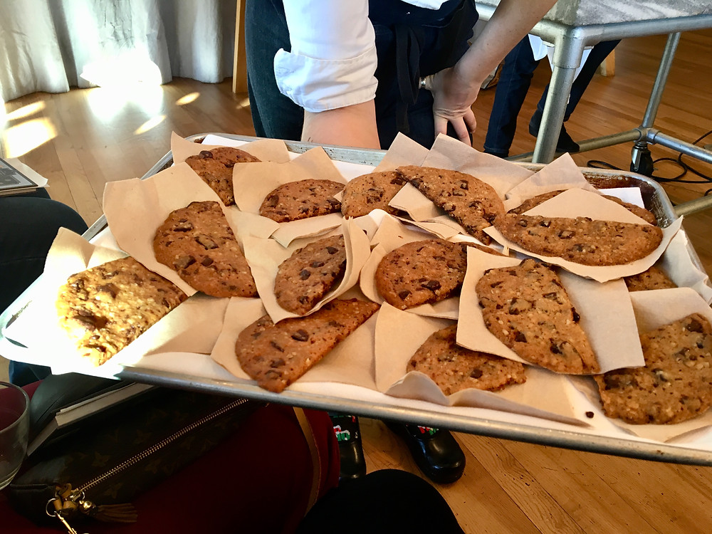Ultrathin Chocolate Chunk Cookies- Alice Medrich