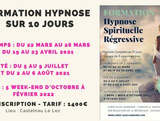 Formation Hypnose : Inscriptions ouvertes pour les sessions 2021 ✨
