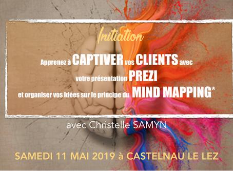 Initiation au logiciel Prezi le 11 mai 2019