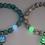 "Thumbnail: Bracelet ""Lotus phosporescent"""