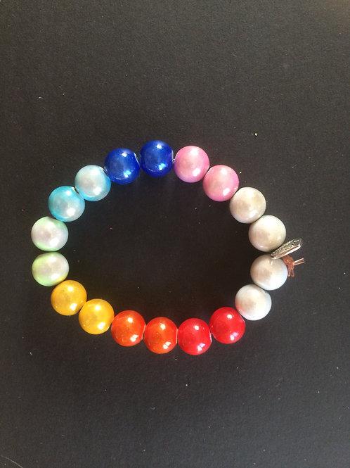 """Bracelet Miracle """"Harmonie des 7 Chakras N°2"""""""