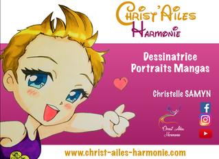 NOUVEAU : Commandez votre portrait version Mangas ou Caricature ✨