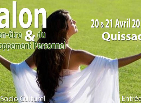 Salon Bien-Être du 20 et 21 avril 2019 à Quissac (30)