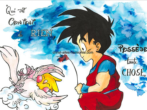 094 DragonBall citation content de rien