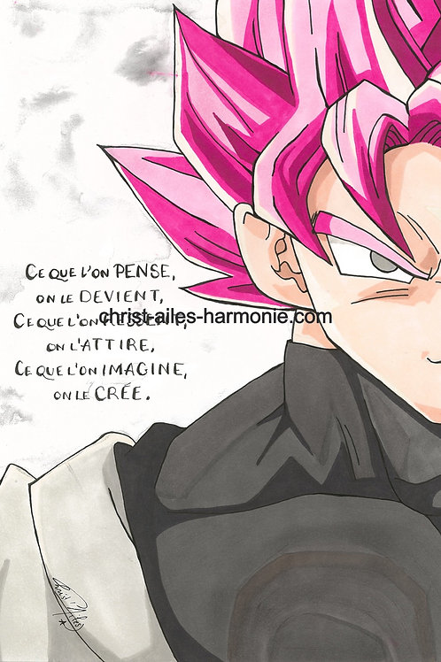 051 DragonBall citation Pensée