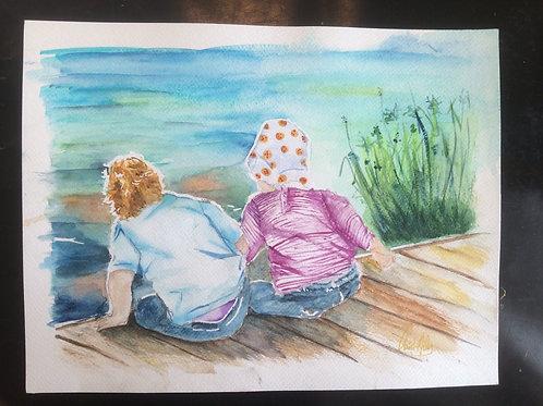 Aquarelle 017 Enfants