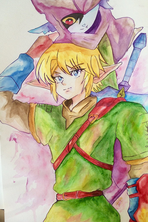 Aquarelle 027 Zelda