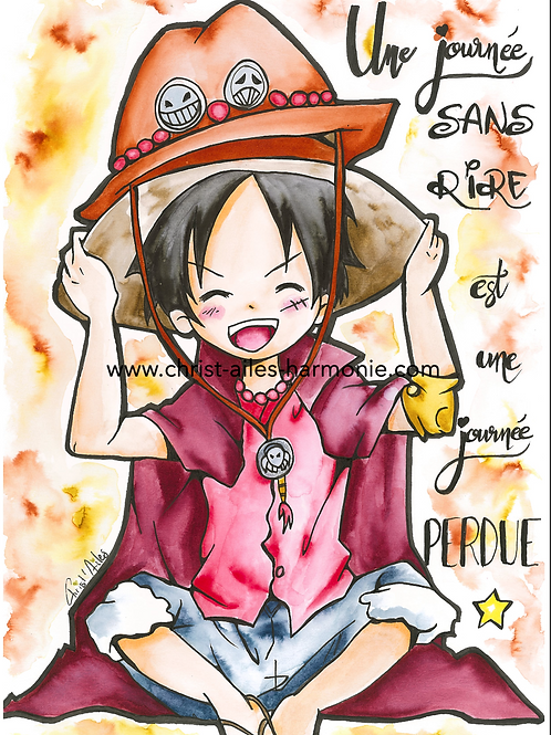 104 One Peace Luffy citation rire
