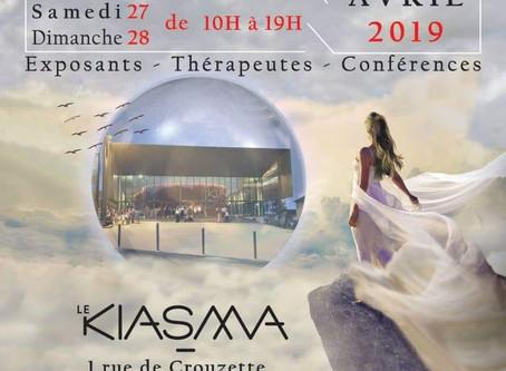 Salon Bien-Être du 26 au 28 avril 2019 à Castelnau Le Lez (34)