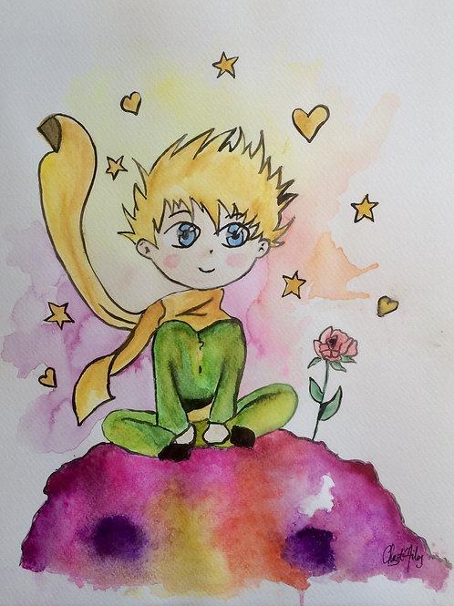 Aquarelle 023 Petit prince