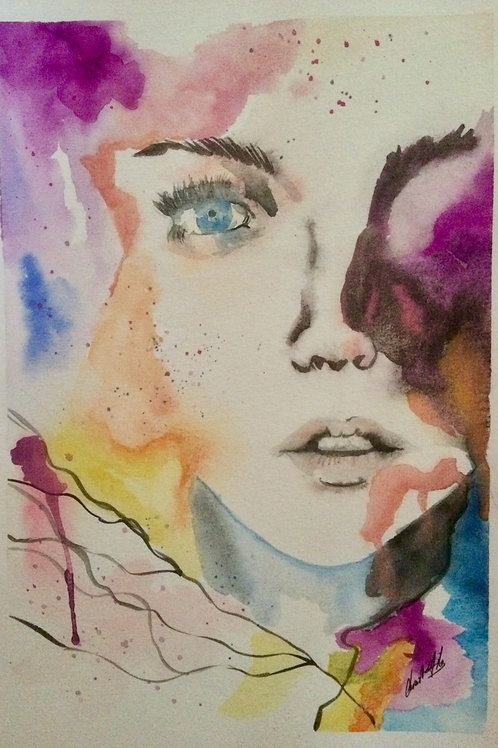 Aquarelle 057 Regard