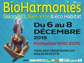 Salon Bio&Harmonies de Montpellier du 7 au 9 décembre 2019