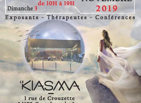 Salon Destination Bien Vivre et Bien-Être de Castelnau-le-Lez les 2 et 3 novembre