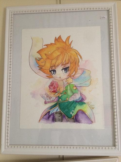Aquarelle 060 Petit prince