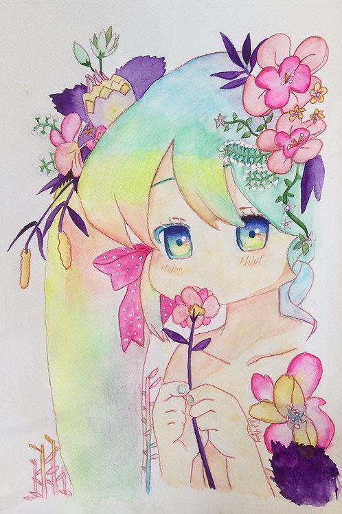 Aquarelle 028 Manga