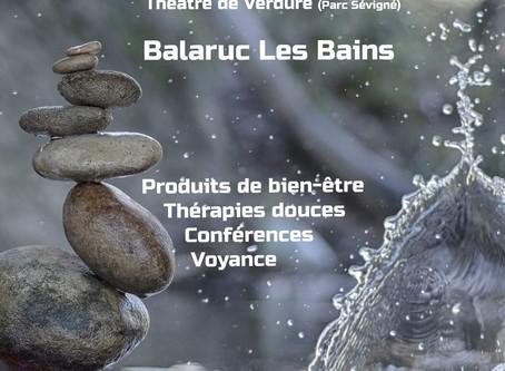 Salon Bien-Être les 14 et 15 septembre à Balaruc-Les-Bains (34)