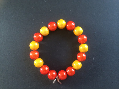"Bracelet Miracle ""Jaune et orange"""