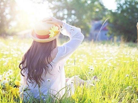 Prihod pomladi in krepitev energije jeter