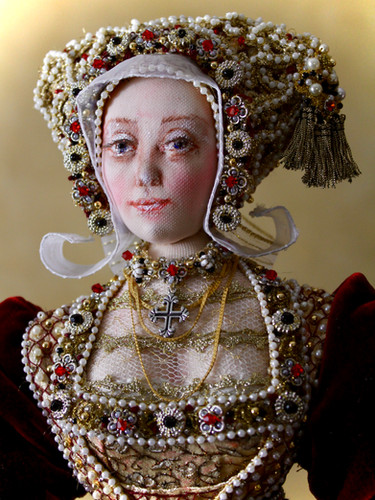Anne of Cleves half portrait