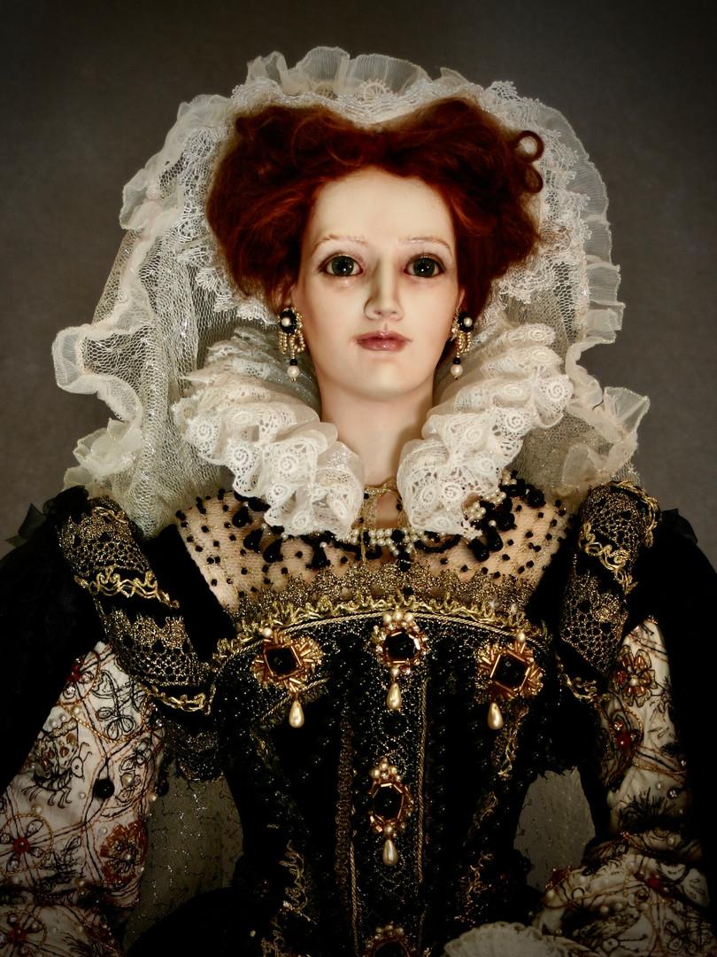 Mary Queen of Scots head & shoulders