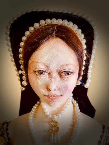 Anne Boleyn head