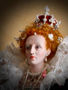Elizabeth Iportrait from Nicholas Hilliard Hardwick portrait