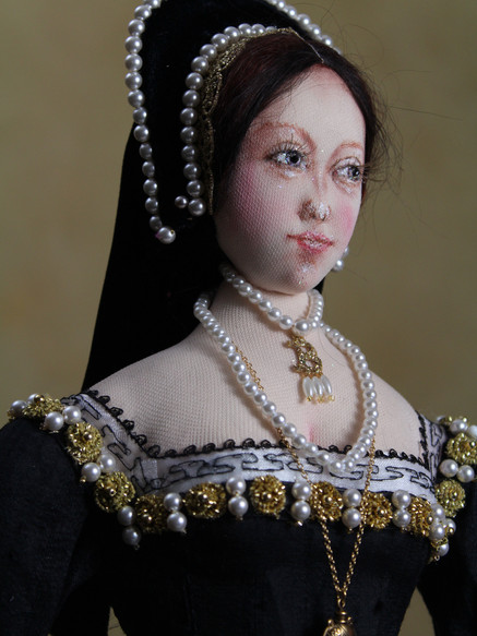 Anne Boleyn half portrait