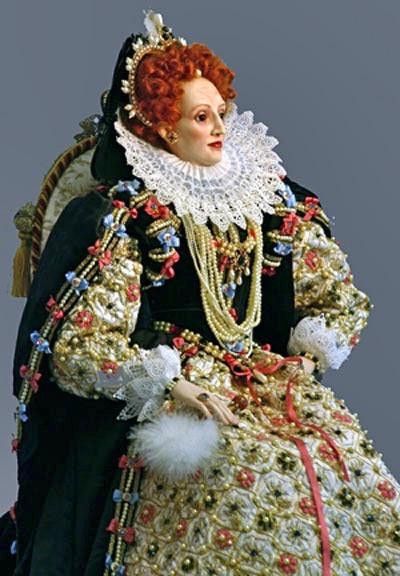Elizabeth I - Armada dress