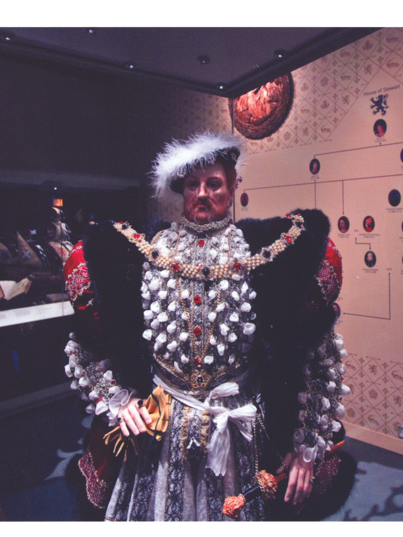 Henry VIII at National Museum of Scotland exhibition
