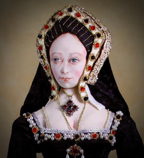 Catherine of Aragon head & shoulders