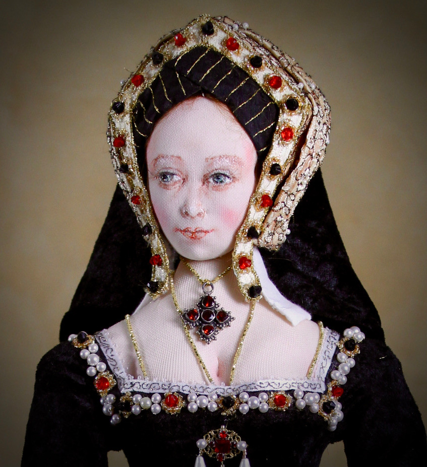 Catherine of Aragon head & shoulders