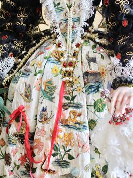 Hardwick dress detail