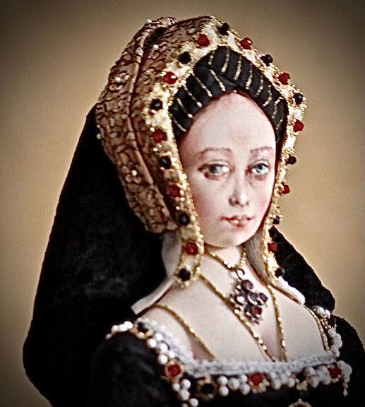 Catherine of Aragon side portrait