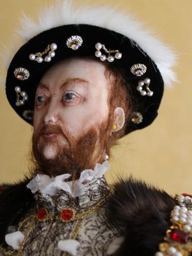 Henry VIII head & shoulders