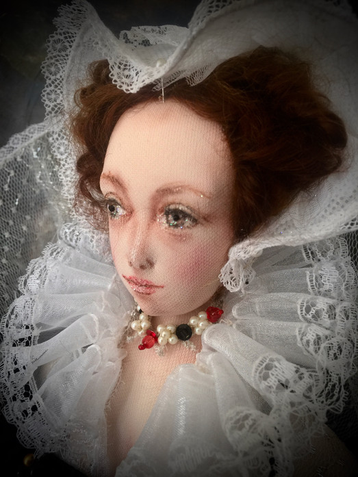 Mary Queen of Scots right portrait