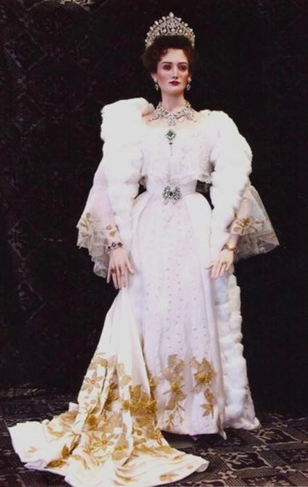 Czarina full length portrait