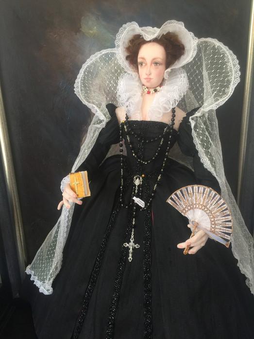 Mary Queen of Scots left portrait