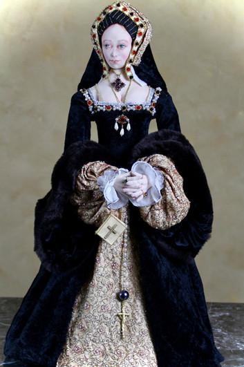 Catherine of Aragon 3/4 portrait