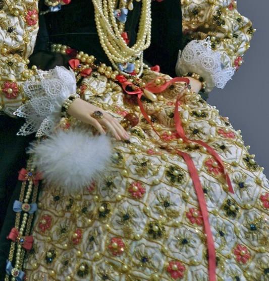 Armada dress detail